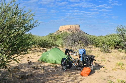 Camping in Damaraland