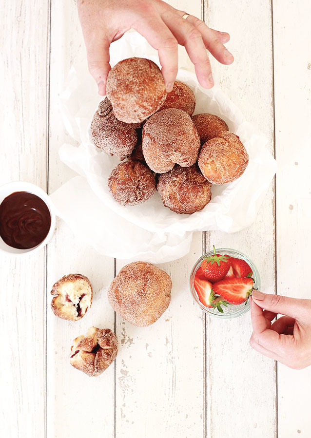 Cinnamon Sugar Donut Recipe