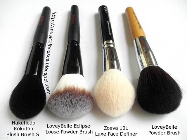 LoveyBelle Zoeva Hakuhodo Eclipse Powder Brush (2)