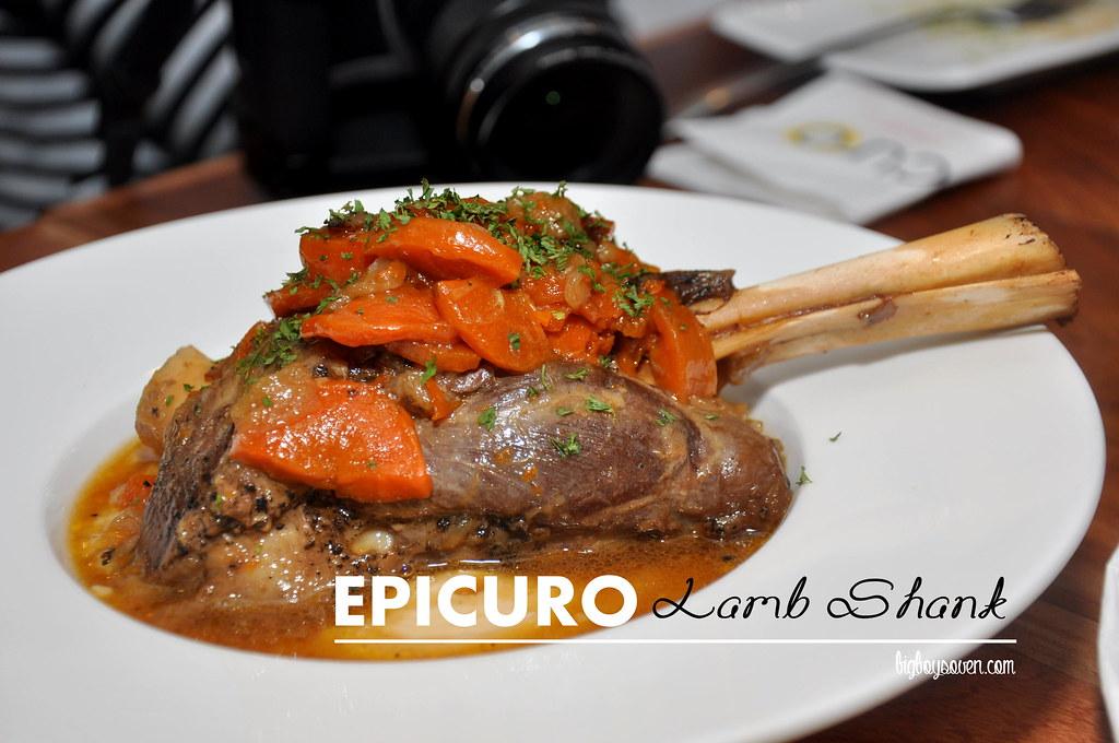 Epicuro Lamb Shank