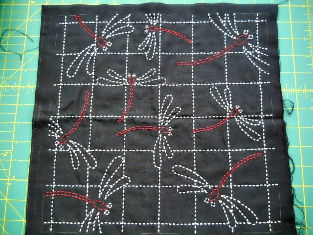 dragonfly sashiko, fixed