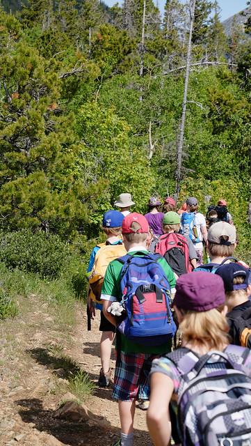 Bertha falls trail