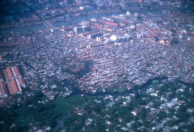 SAIGON 1967 - Không ảnh khu vực Q4
