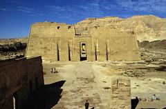 Ägypten 1999 (449) Theben West: Medinet Habu