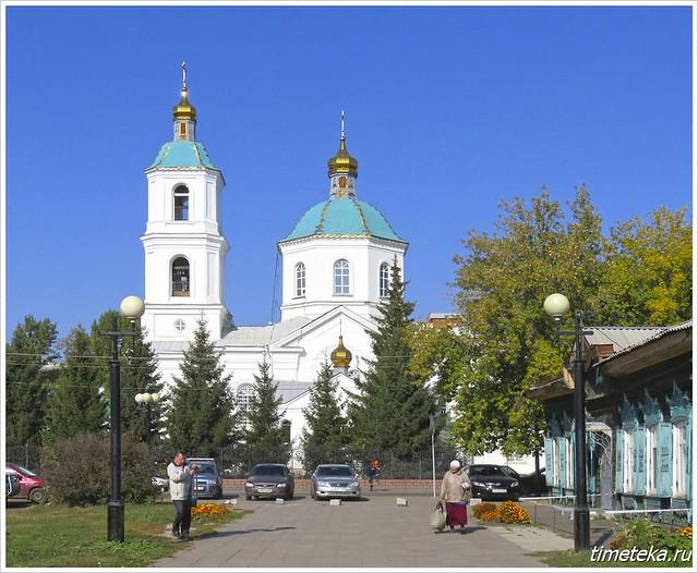 Крестовоздвиженский собор. Омск