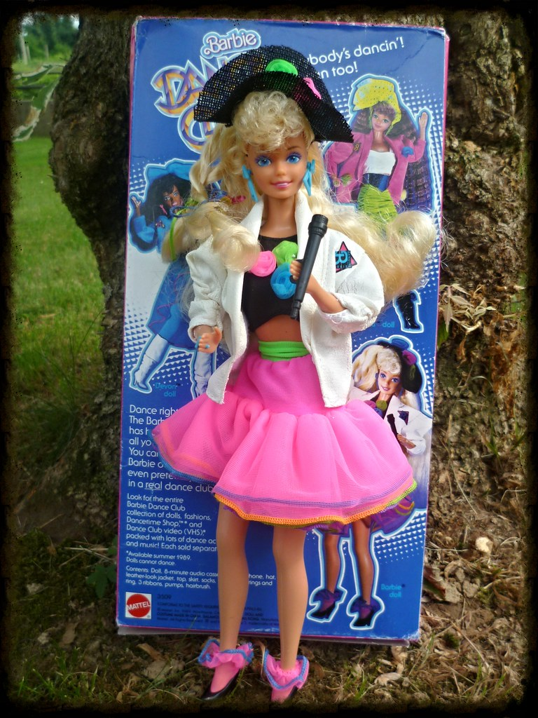 Dance Club Barbie 1989 Im Not Fond Of Late 80s Bandmus Flickr