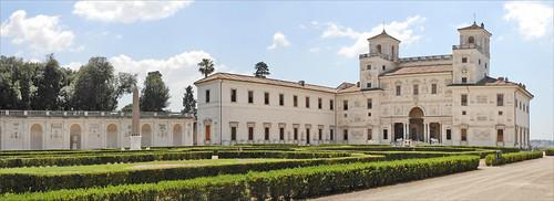 La villa Médicis (Rome)