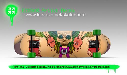 Skate Art Guilherme Telles