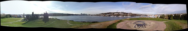 Gas Works Park Photosynth Panorama