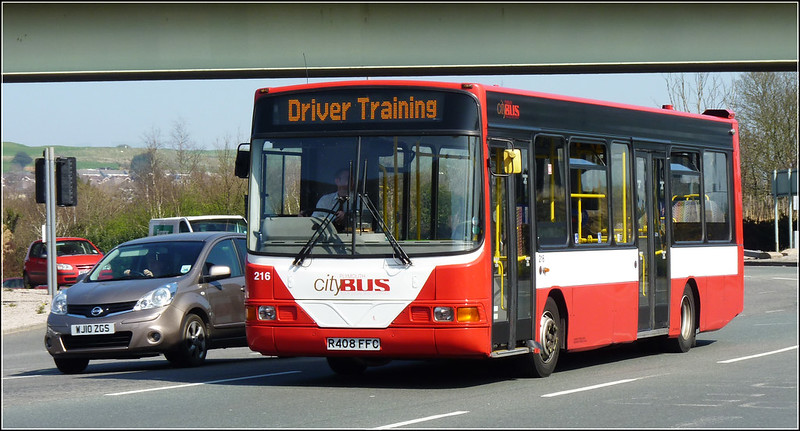 Plymouth Citybus 216 R408FFC