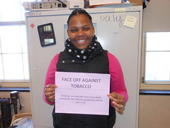 FACE OFF AGAINST TOBACCO