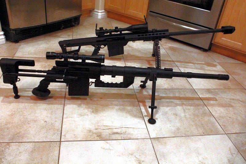 22LR Barrett M82A1, Barrett M99 and M200 Cheytac