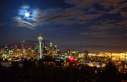 Seattle Super Moon 2012