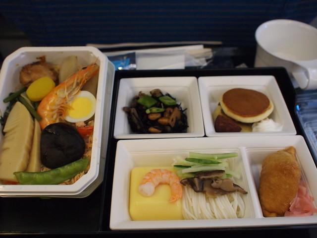 ANA 羽田ー台湾松山空港 機内食