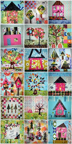 Home Sweet Home Quilt Along - Blocks 1 thru 16, and Bonus Blocks 1 & 2