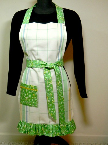 Finished apron