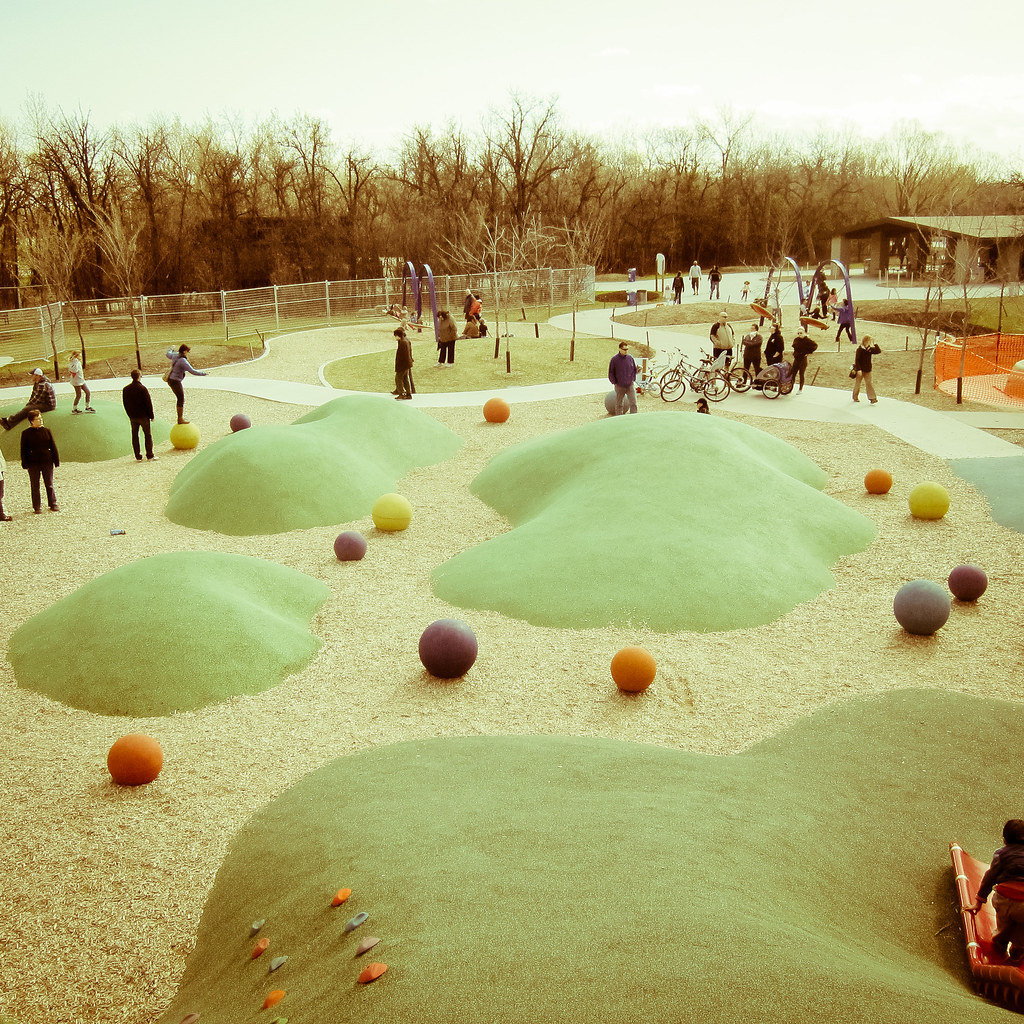 Children`s Nature Playground