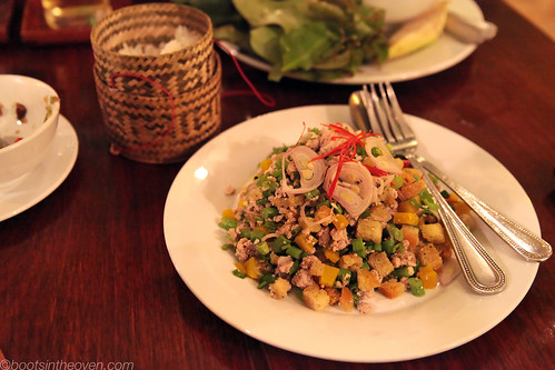 Pork and Pumpkin Larb, Makphet