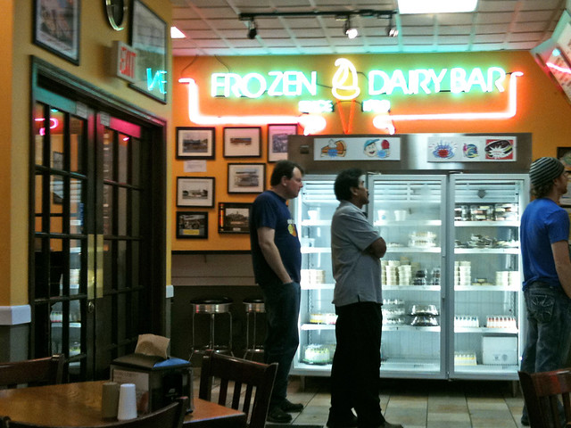 frozen dairy bar