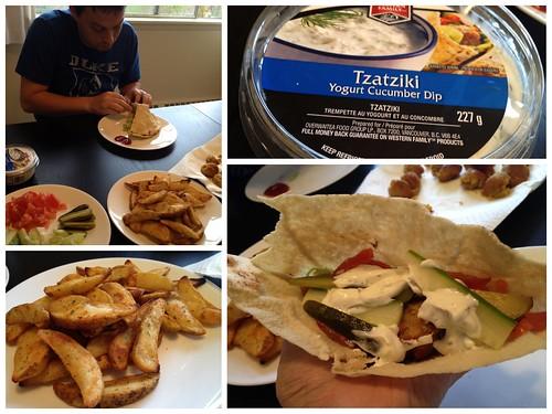 Falafel finished product