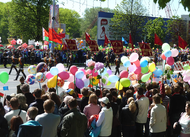 9 мая Минск Знамена