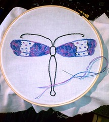 Dragonfly in progress