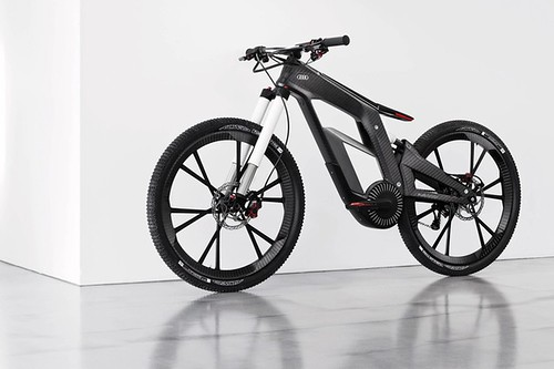 Электрический велосипед Audi e-bike Wörthersee