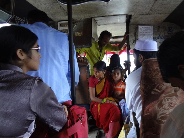 Autocarro desde Tansen até Lumbini via Bhairahawa, Nepal