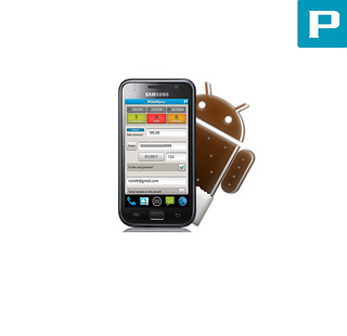 Android 4.0.4 Credit Card App