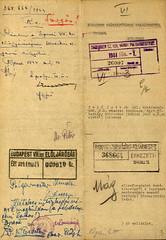 VI/1. Sajó István kérelme: mentesítő okiratot kér, mert a kivételezetteknek nem kellett a gettóba beköltöznie. 6.5_003