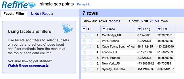Putting Points on Maps Using GeoJSON Created by Open Refine