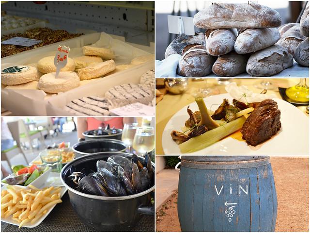 Provence gastrohike food
