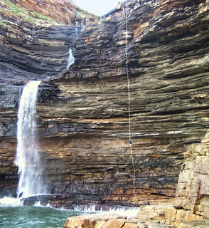 abseiling in the transkei