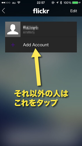 Add Acount