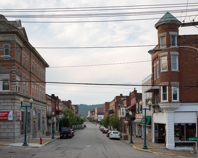 Downtown Donora, Pennsylvania