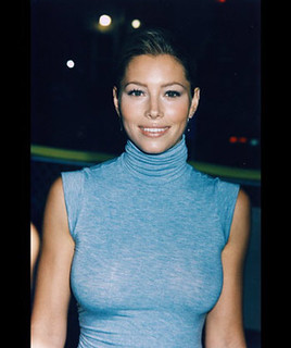 jessica biel the worst actress ON EARTH turtleneck