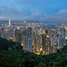 Hong Kong from Sky Terrace 428 at Victoria Peak by David Gn Photography