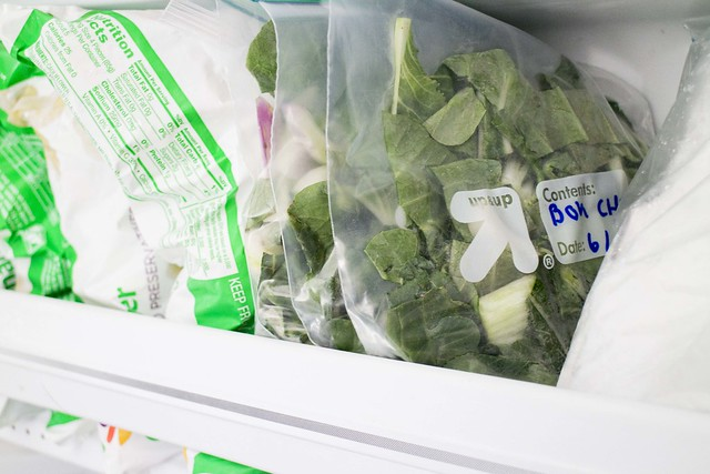 How to Freeze Bok Choy_6