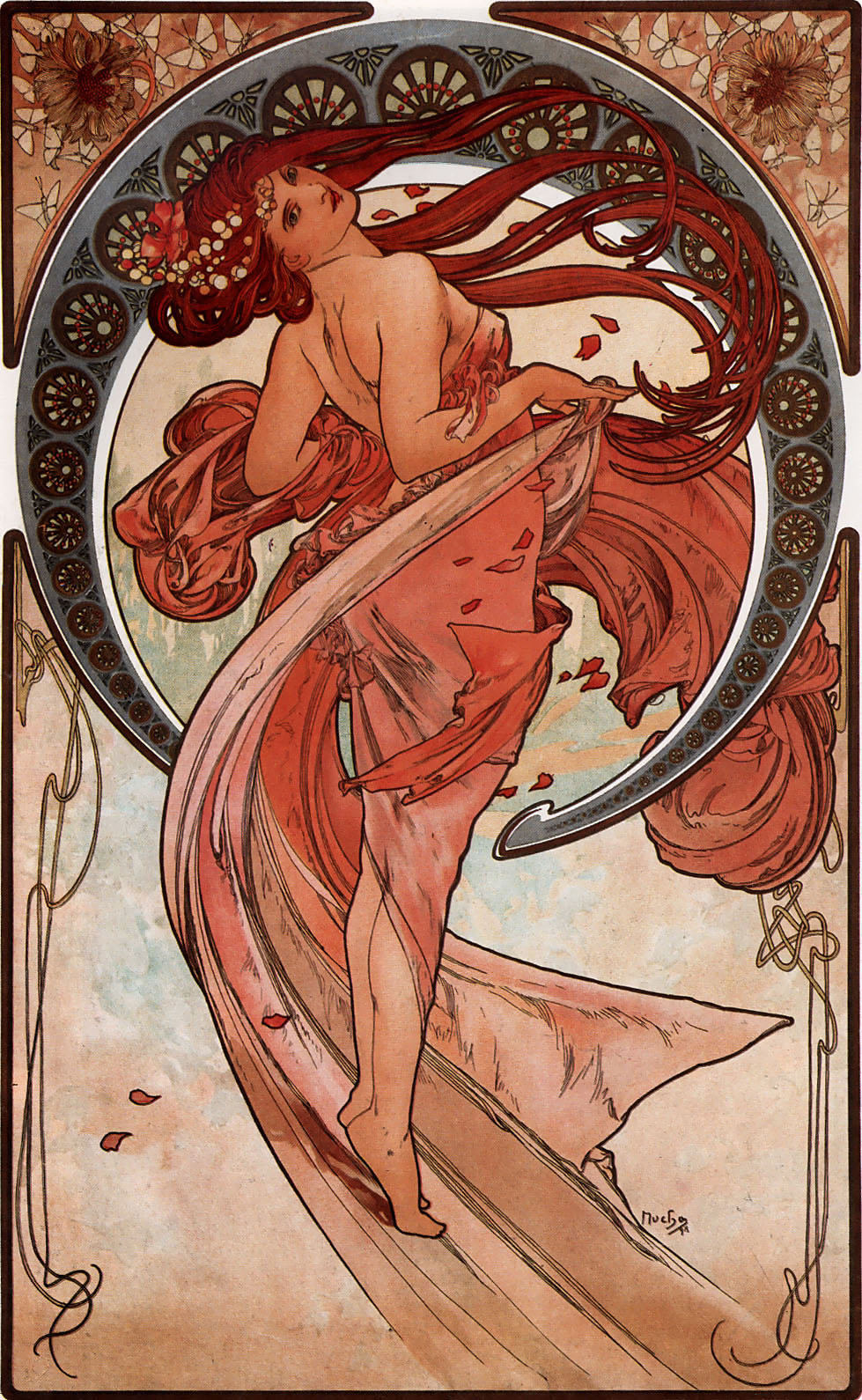 Dance by Alfons Mucha, 1898