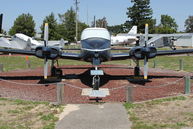 Cessna U-3A 'Blue Canoe' Administrator