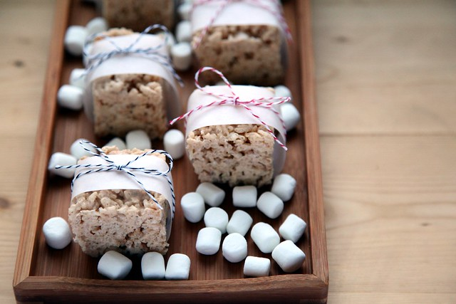 Brown Butter Cinnamon Rice Krispie Treats 3
