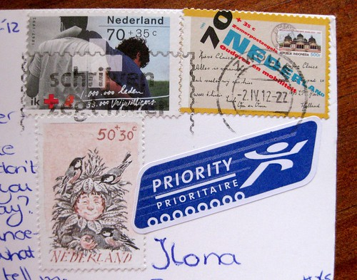 Show and Mail: today's excellent Dutch stamps