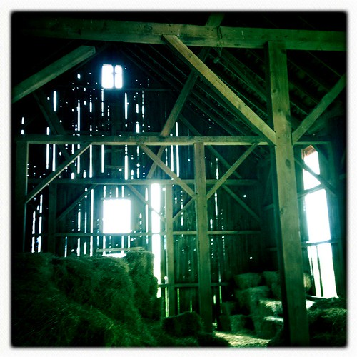 Barn interior by William 74