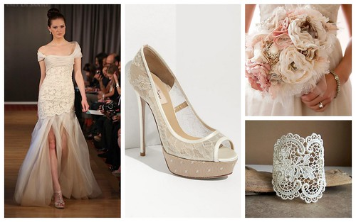 {Lace Inspiration} Bridal Style by Nina Renee Designs