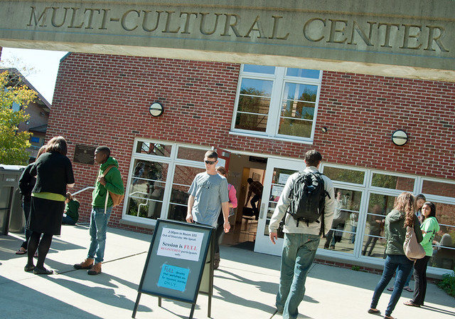 URI Multicultural Center entrance
