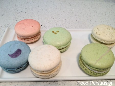 Colors of the rainbow  - macrons