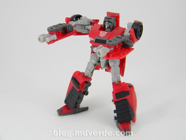 Transformers Windcharger Scout - United - modo robot