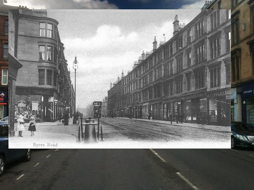 Old and New Byres Road
