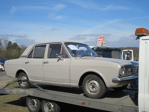 1966 Ford Cortina 1300 Saloon.