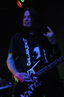 Nige Rockett of Onslaught